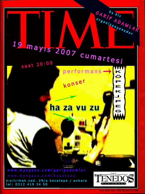 hazavuzu performans video art tenedos cafe garip adamlar