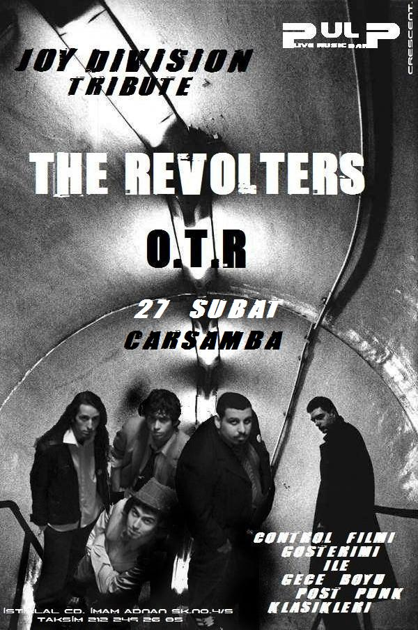 the revolters joy division pulp post punk indie factory o.t.r